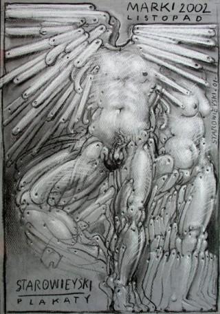 Starowieyski Plakaty Marki listopad, 2002 r.