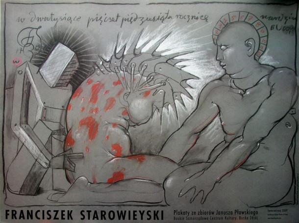 Franciszek Starowieyski Plakaty zezbiorów Janusza Pławskiego, 2009 r.