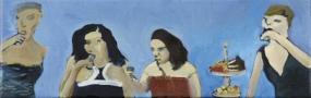 Wódka nas uratowała, 2010, oil on canvas