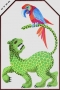 Jaguar and Parrot from