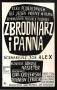 Zbrodniarz iPanna, 1963r., reż: Janusz Nasfeter
