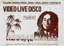 Wideo life disco'83 reggae pod strzechą, 1983 r.