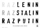 RazLenin RazStalin RazPutin, polityczny
