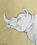 Ilustracja nosorożec