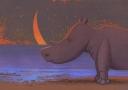 Ilustracja -Nosorożec
