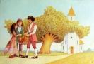'A fool learned how to lie' K. T. Hao -ilustracja książkowa