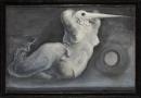Obraz do sztuki ONI, technika mieszana, płótno, 1978