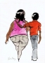 Fat Girl and Skinny Boy