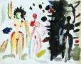 Abstrakcja ztrzema kobietami