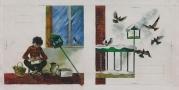 Ilustracja do książeczki Anny Pogonowskiej