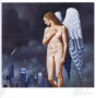 Rafal Olbinski, Untitled (New York)