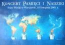 Koncert Pamieci inadziei, 2001