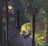 Untitled (tigers at night)