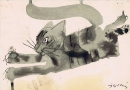 Untitled (jumping cat)