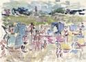 Świnoujście -plaża, 1972 r. (nr. 11)