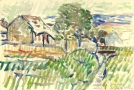 Stary Sacz- Stream, 1957