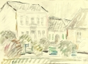 Stary Sacz- houses, 1971