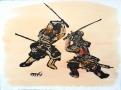 Serie Samurais (4), 2016