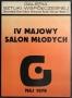 IV Majowy Salon Mlodych, 1979