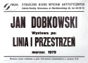 Jan Dobkowski -Linia iprzestrzeń, 1979