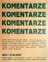 Comments, 1979