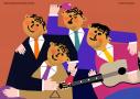 Męski zespół instrumentalno-wokalny. Wrażliwi muzykanci