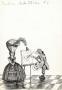 Malarz, projekt ilustracji, lata 70-te, XX w. (276)