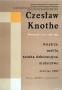 Czeslaw Knothe