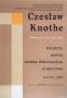 Czeslaw Knothe: tworczosc zlat 1926-1979, 1980